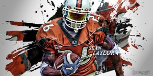 Sean Taylor the U sig Redskins