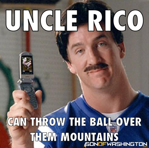 like Memes…they make me laugh. Happy Monday everyone.Uncle Rico Kyle Orton